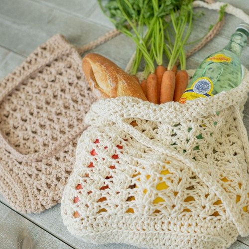 Organic Cotton Crochet Kit - Carry All Bag