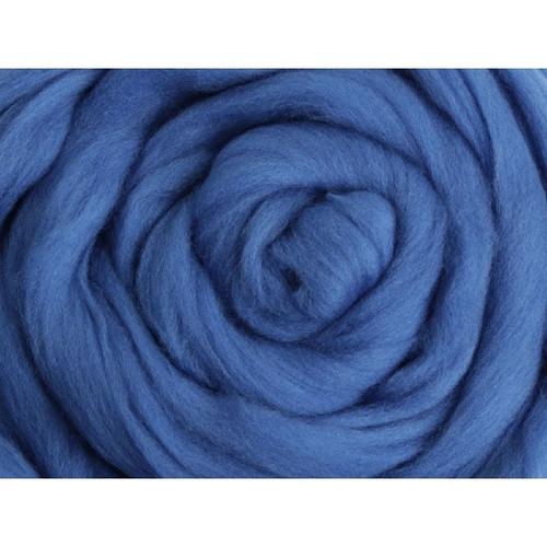 Ashford Corriedale Wool Roving, Ounce - Classic Blue