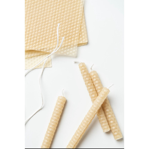 Beeswax Candle Rolling Kit - MINI - Makes 7