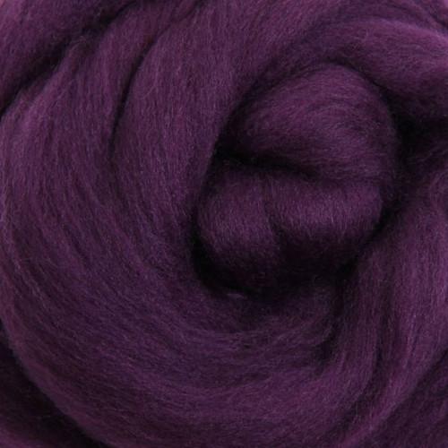 Ashford Dyed Merino Wool Top - Amethyst