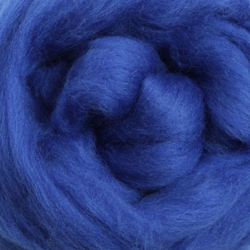 Ashford Dyed Merino Wool Top - Blue