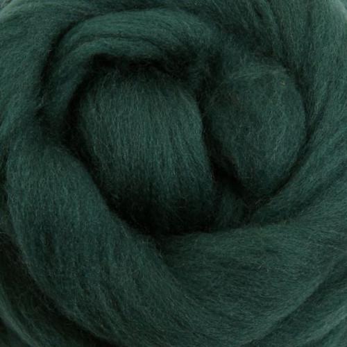 Ashford Dyed Merino Wool Top - Green Tea (Fir)