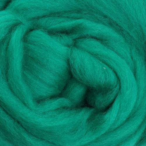 Ashford Dyed Merino Wool Top - Green