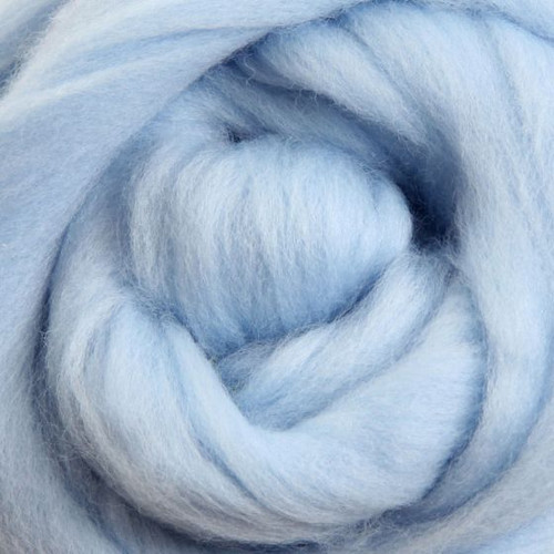 Ashford Dyed Merino Wool Top - Ice