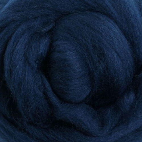 Ashford Dyed Merino Wool Top - Indigo