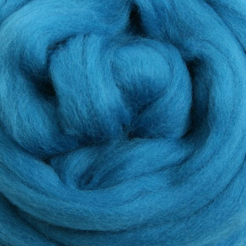 Ashford Dyed Merino Wool Top - Lagoon