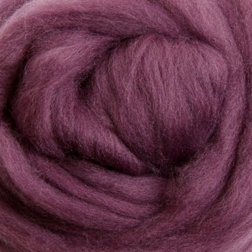 Ashford Dyed Merino Wool Top - Grape Jelly (Lilac Haze)