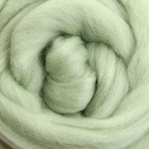 Ashford Dyed Merino Wool Top - Mint
