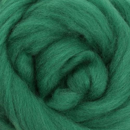 Ashford Dyed Merino Wool Top - Kiwifruit (Moss)