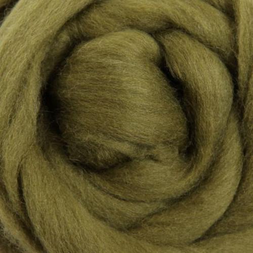 Ashford Dyed Merino Wool Top - Olive