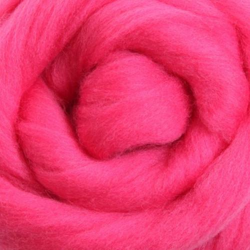 Ashford Dyed Merino Wool Top - Pansy