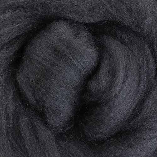 Ashford Dyed Merino Wool Top - Slate