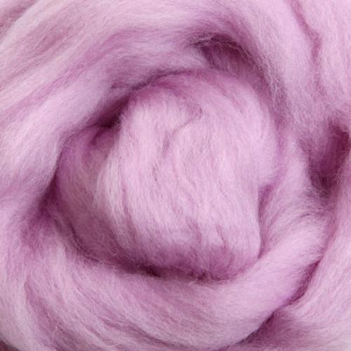 Ashford Dyed Merino Wool Top - Lavender (Sweet Pea)