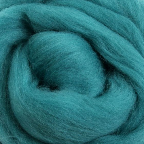 Ashford Dyed Merino Wool Top - Spearmint (Teal)
