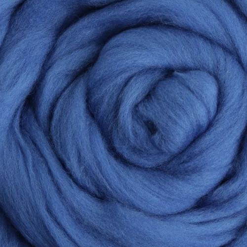 Ashford Dyed Merino Wool Top - Classic Blue