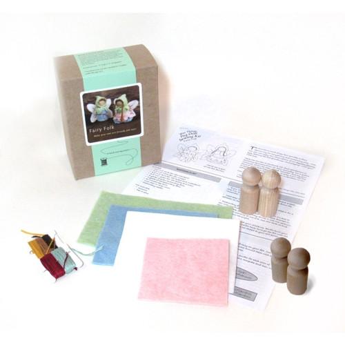 Fairy Folk Peg Doll Hand Sewing Kit