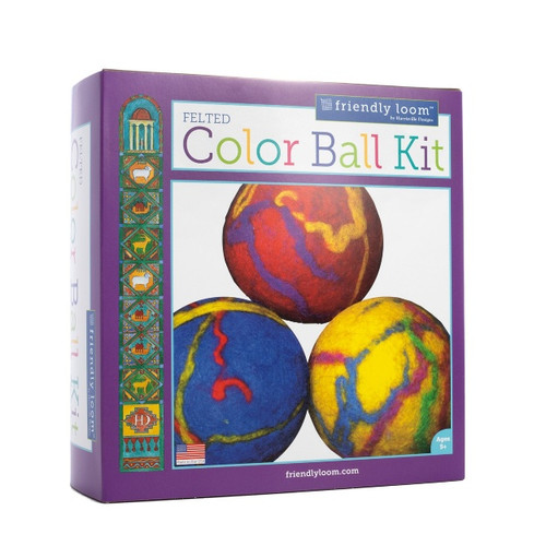 Wet Felting Kit - Color Ball Kit