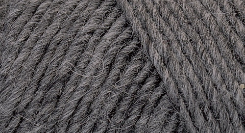 Lamb's Pride Heathered Worsted - Charcoal Heather
