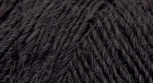 Lamb's Pride Heathered Worsted - Deep Charcoal