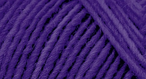 Lamb's Pride Monochromatic Worsted - Royal Purple Flutter