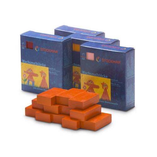 Stockmar Beeswax Crayon - Single BLOCK