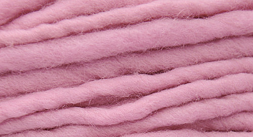Burly Spun Wool Yarn - Baby Blush