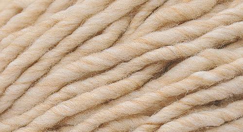 Burly Spun Wool Yarn - Oatmeal (heathered)