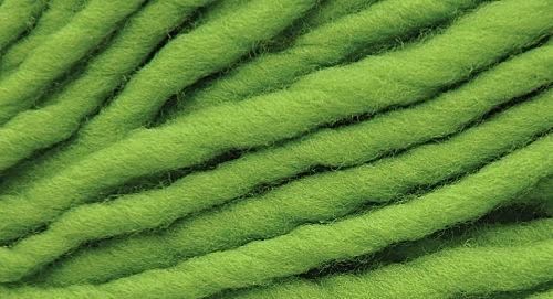 Burly Spun Wool Yarn - Limeade