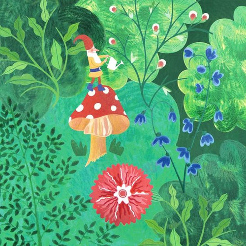 Gnome in Seasons Growth Chart - Spring