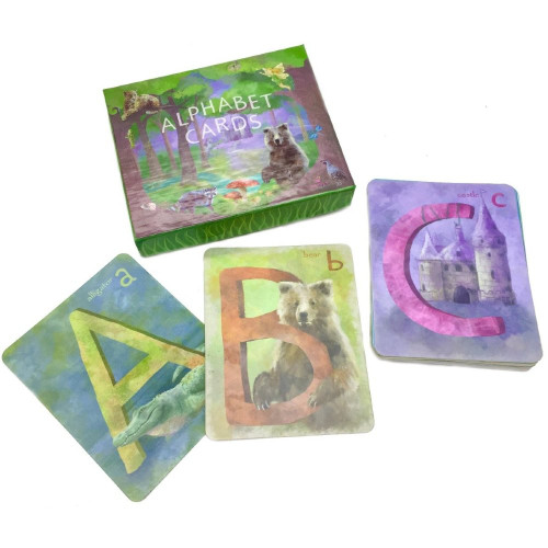 Alphabet Art Cards
