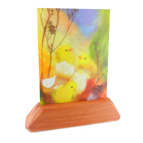 Cherry Wood Card Holder