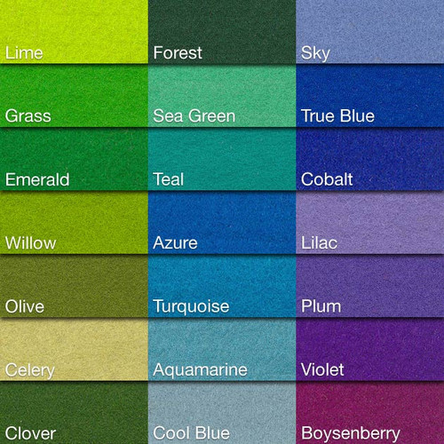 Cool Color Chart