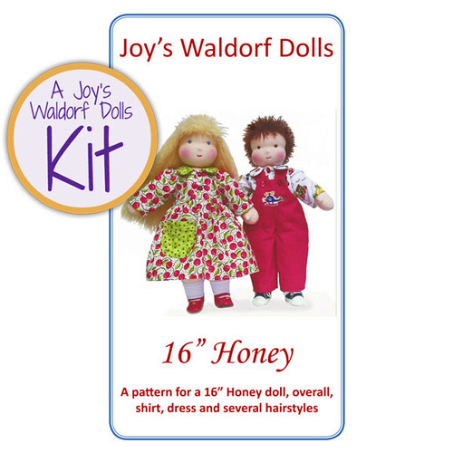 """16"""" Honey Doll Kit - Short Hair"""