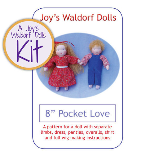 "8"" Pocket Love Doll Kit"