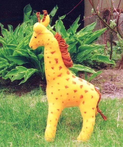 c3feb76a091 ... Example - Velour Giraffe, Pattern in Sew Soft Toys