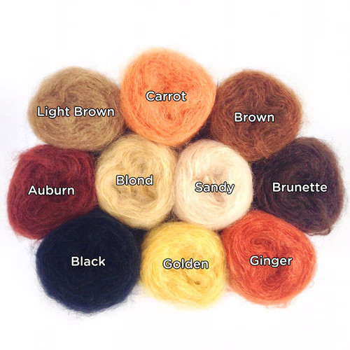 Smooth Mohair Doll Hair Yarn