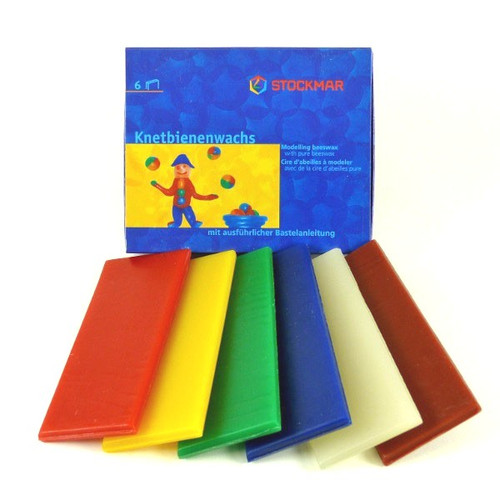Stockmar Modeling Beeswax - 6 Colors