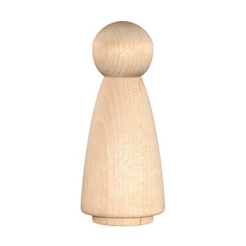 Wood Peg Doll - Angel, Fairy, Female - EXTRA LARGE