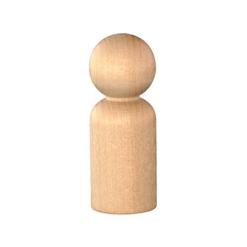 Wood Peg Doll - Large (10)