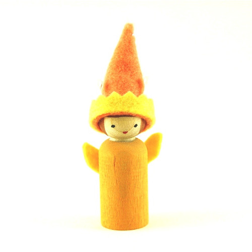 Gnome - example from Making Peg Dolls book
