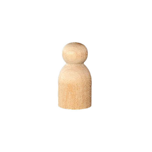 Wood Peg Doll - Tiny (12)
