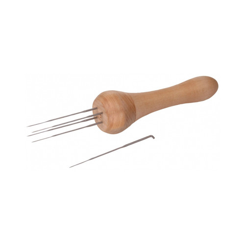 Ashford's 4-Needle Felting Tool