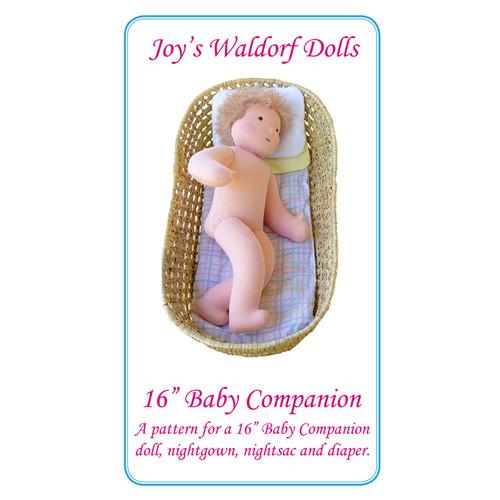 "16"" Baby Companion Pattern"