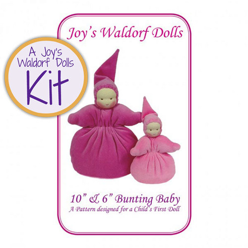 "10"" & 6"" Bunting Baby Doll Making Kit"
