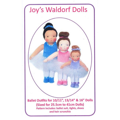 Ballet Outfits Pattern - Joy's Waldorf Dolls