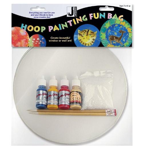 Silk Hoop Painting Kit Fun Bag