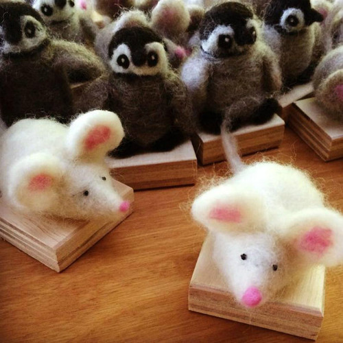 Woolpets Mice Kit - Easy