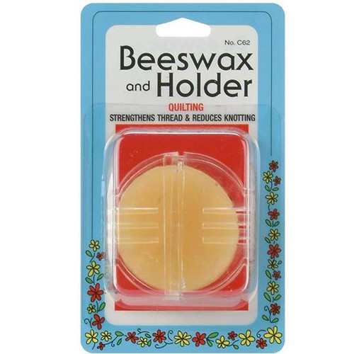 Sewing Beeswax in Holder