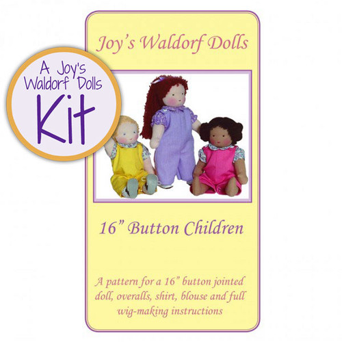 "16"" Button Child Kit - Short Hair"