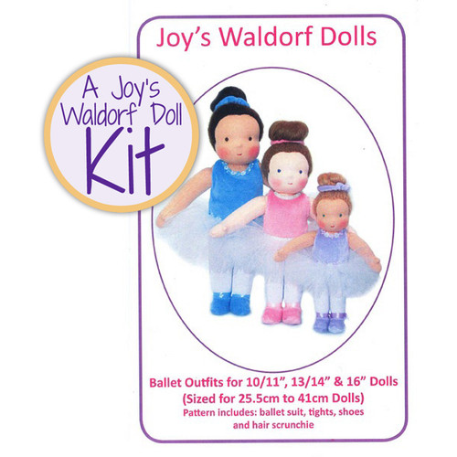 Ballet Outfits Kit for Waldorf Dolls